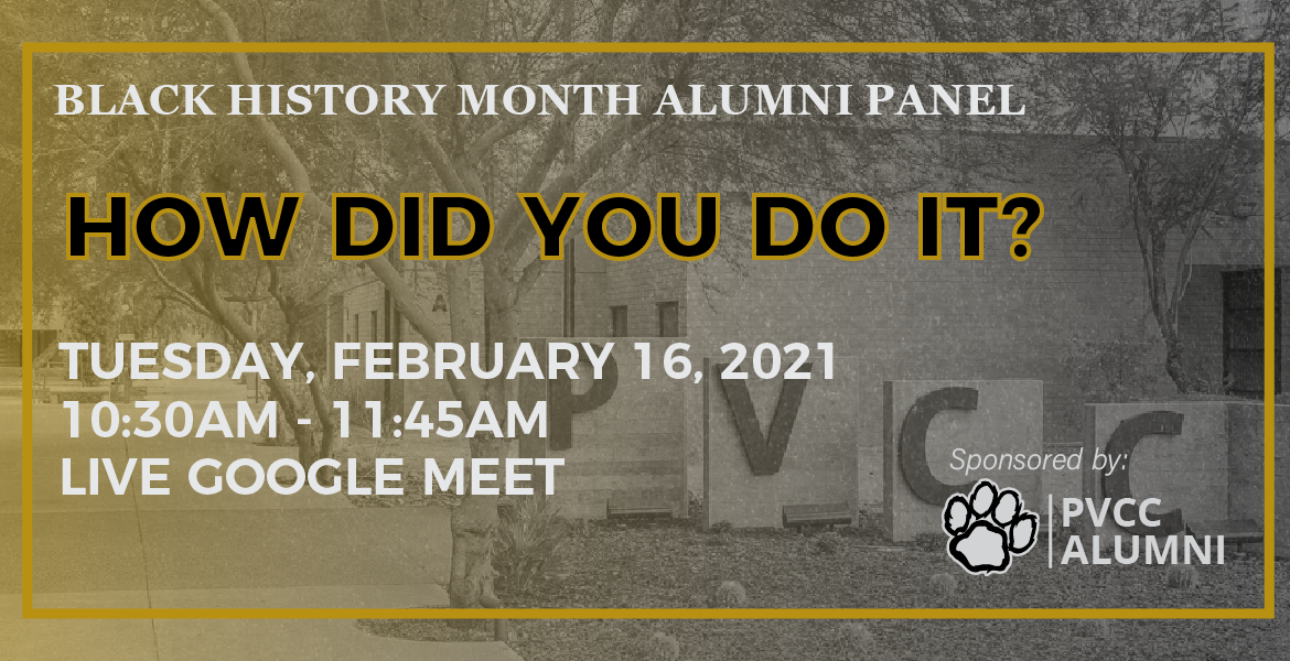 Black History Month: Alumni Panel