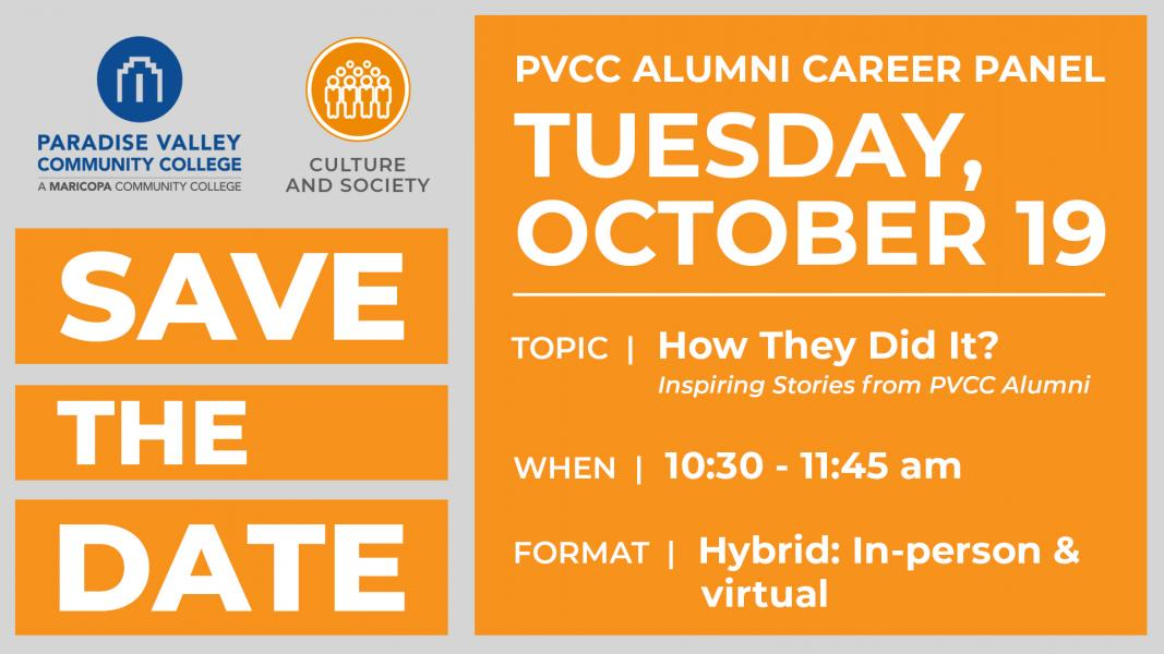 Culture and Society: How They Did It: Inspiring Stories from PVCC Alumni