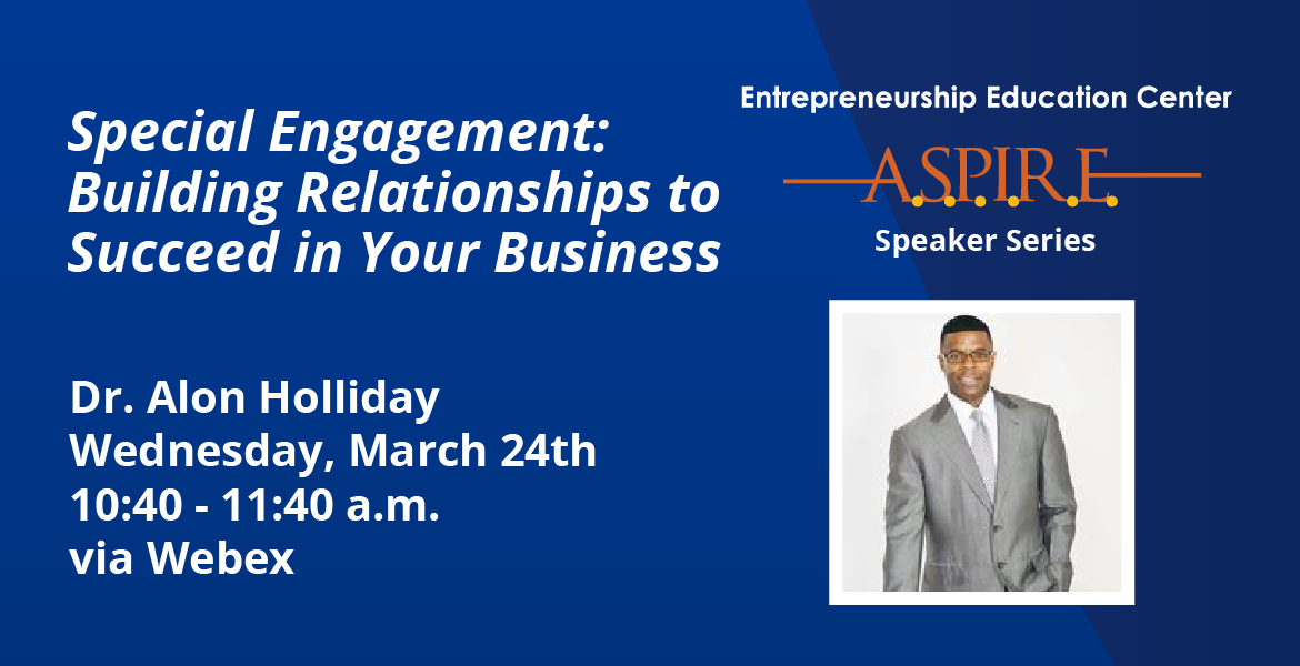 Building Relationships to Succeed in Your Business with Dr. Alon Holliday