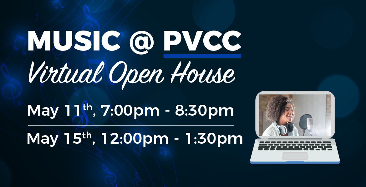 Music at PVCC: Virtual Open House