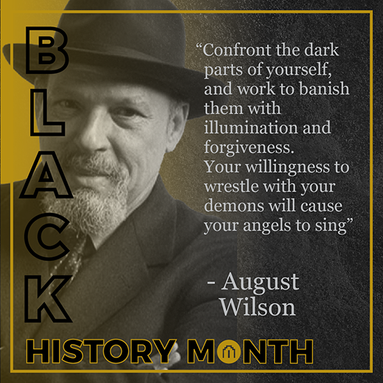 August Wilson - Black History Month