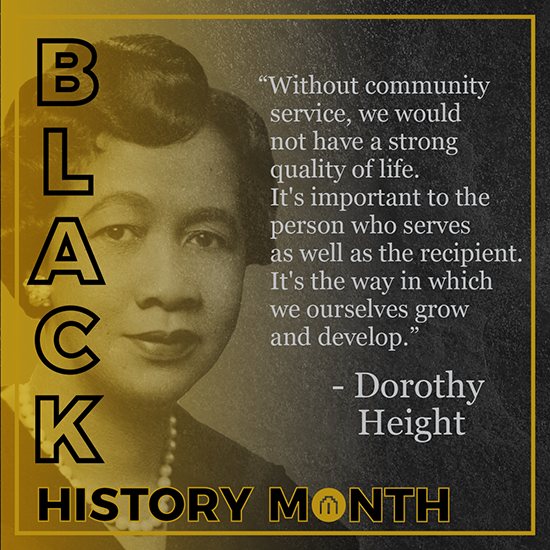 Dorothy Height - Black History Month
