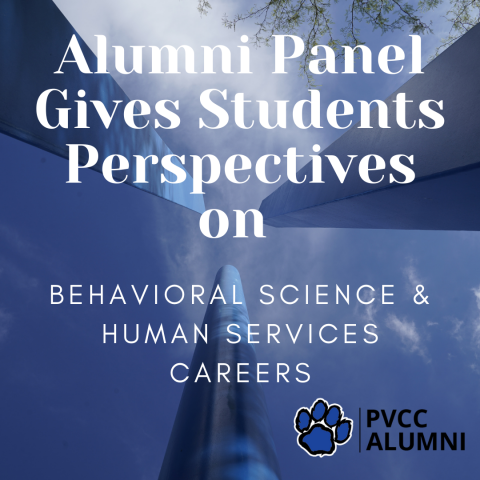 Alumni Panel Gives Students Perspectives in Behavioral Science and Human Services Careers