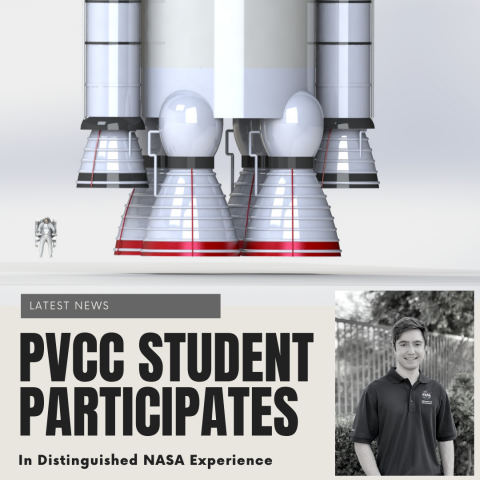 PVCC Student Participates in Distinguished NASA Experience