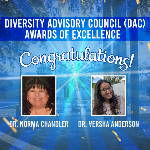 PVCC Faculty Awarded DAC Awards of Excellence