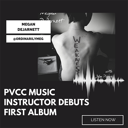 PVCC Music Instructor Debuts First Album