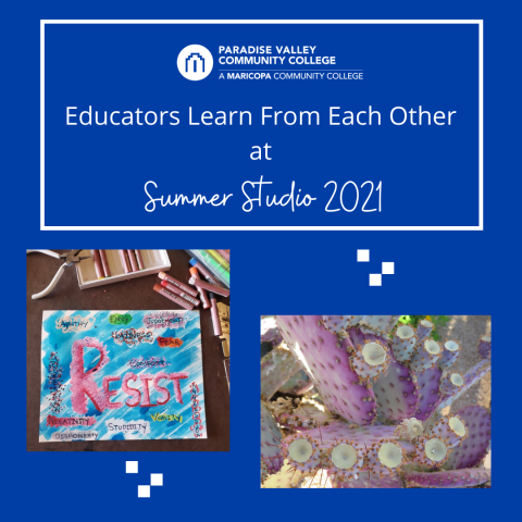 Educators Learn From Each Other at Summer Studio 2021
