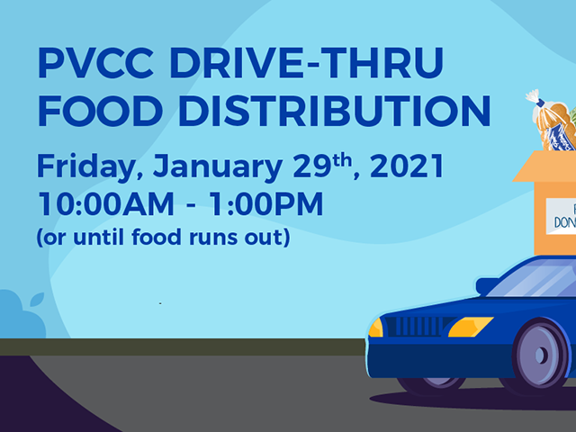 PVCC Promotes Positive Social Change with Monthly Food Distribution