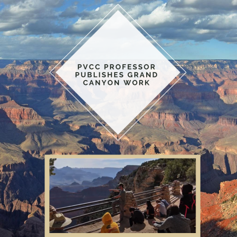 PVCC Professor Publishes Grand Canyon Work