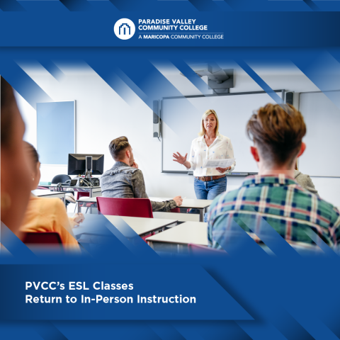 PVCC's ESL Classes Return to In-Person Instruction