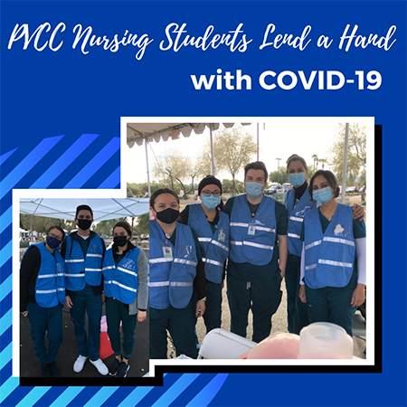 PVCC's Nursing Program Lends a Hand with COVID-19