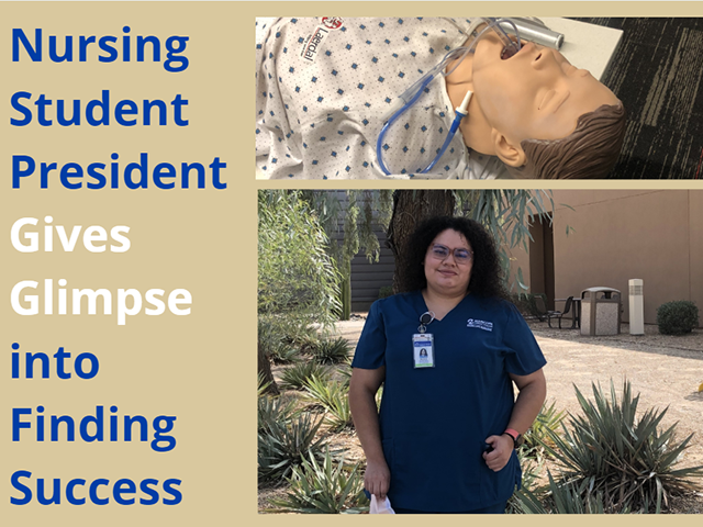 Nursing Student President Gives Glimpse into Finding Success