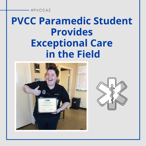 Paramedic Student Provides Exceptional Care in the Field