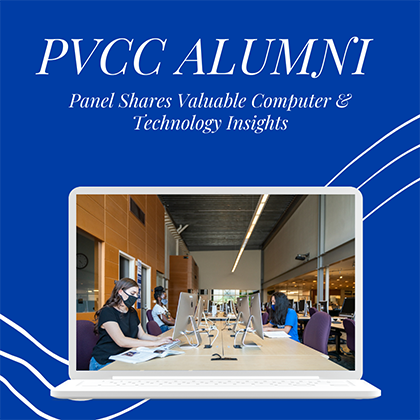 PVCC Alumni Panel Shares Valuable Computer and Technology Insights