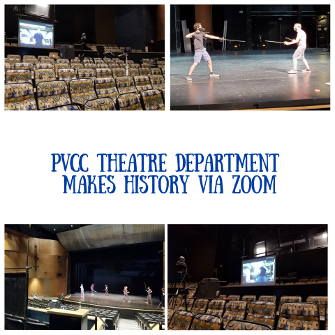 PVCC Theatre Department Makes History Via Zoom