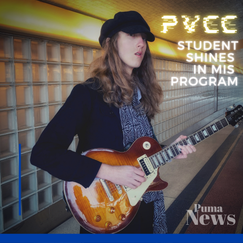 PVCC Student Shines in MIS Program