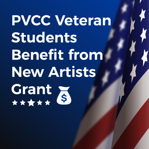 PVCC Veteran Students Benefit from New Artists Grant