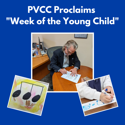 """PVCC Proclaims """"Week of the Young Child"""""""