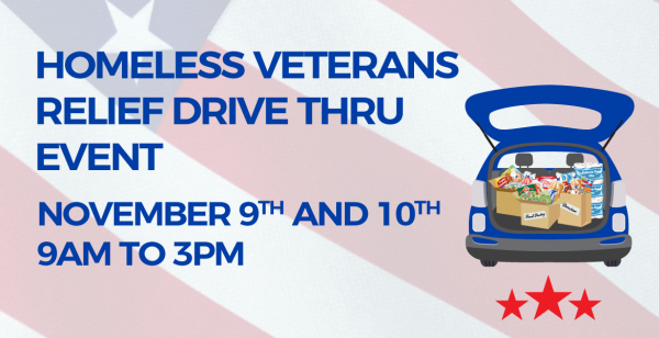 PVCC Community Gives Back - Homeless Veterans Relief