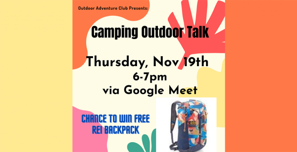Outdoor Adventure Club - Camping talks