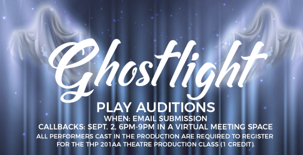 Ghostlight Play Auditions