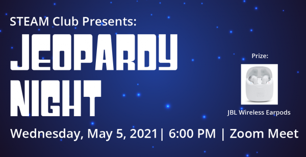 Jeopardy Night Hosted By STEAM Club