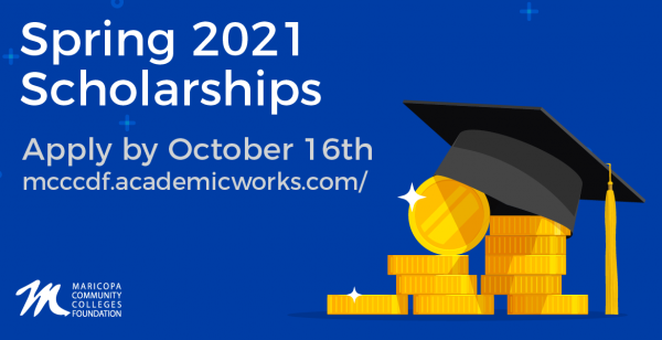 Spring 2021 Scholarships - Apply By October 16th