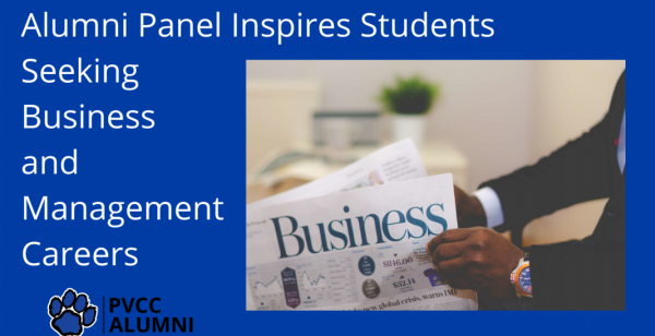 Alumni Panel Inspires Students Seeking Business and Management Careers