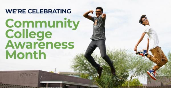 Celebrating Community Colleges All Month Long