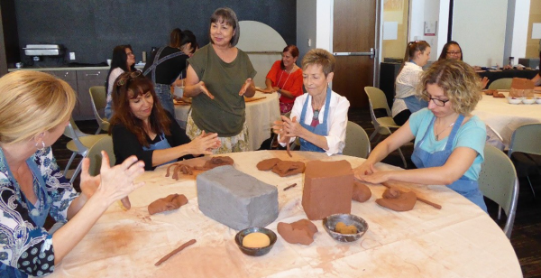 Students Learn Use of Clay in the Classroom