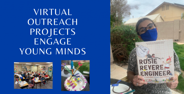 Virtual Outreach Projects Engage Young Minds
