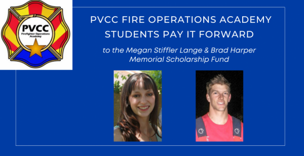 PVCC Fire Operations Academy Students Pay It Forward