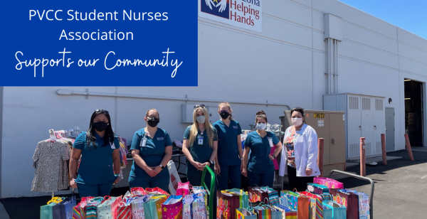 PVCC Student Nurses Association Supports our Community