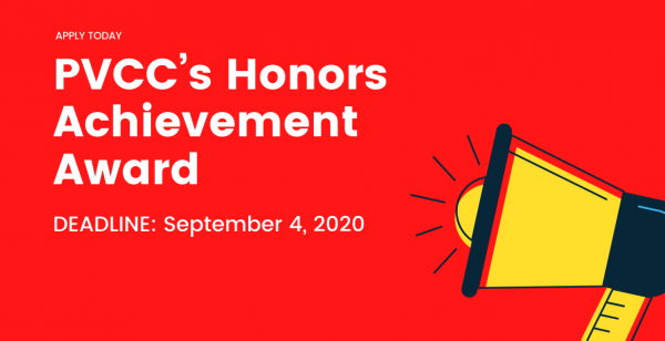 PVCC's Honors Achievement Award
