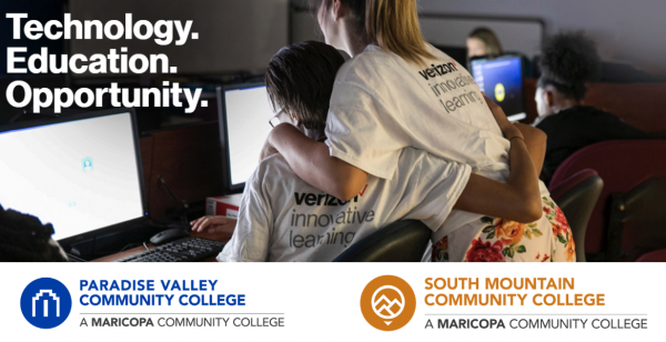 Paradise Valley and South Mountain Community Colleges receive funding for innovative learning