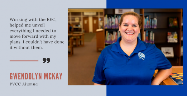PVCC Alumna Capitalizes on EEC Program in Realizing Her Dreams