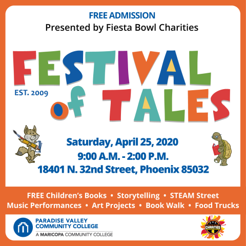 Festival of Tales is Next Month