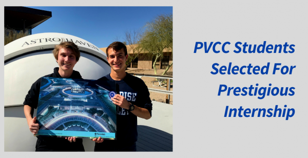 PVCC Students Selected for Prestigious Internship