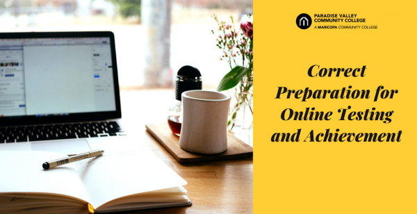Correct Preparation for Online Testing and Achievement
