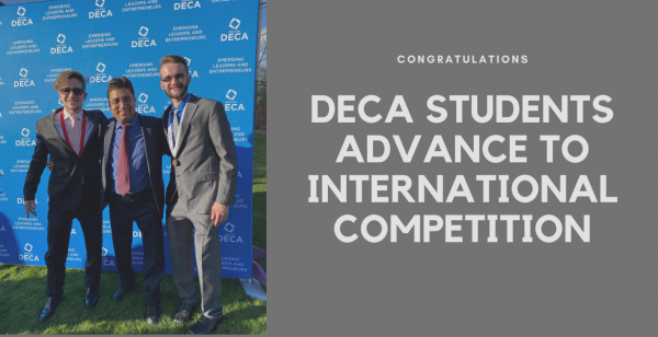 DECA Students Advance to International Competition