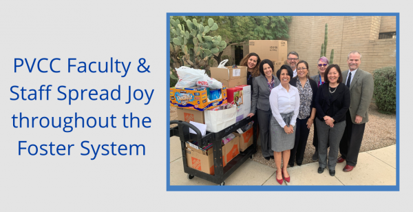 PVCC Faculty spread joy throughout the foster system